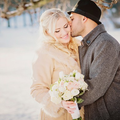 bröllopsfotograf i sollentuna, vinterbröllop med vackra färger